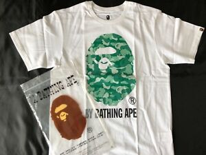 Limited Edition A Bathing Ape Big Face Camouflage  T-shirt