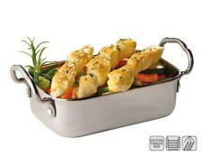 "mini-servierpfanne, casserole profonde, série "" snackholder "", empilable,"