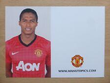 2012-13 Antonio Valencia Unsigned Man Utd Club Card (9702)