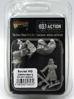 Bolt Action 403014003 Soviet HQ (Winter) WWII Army Officers Command Warlord NIB