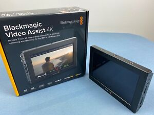 "Blackmagic Design Video Assist 4K 7"" Monitor + Recorder 