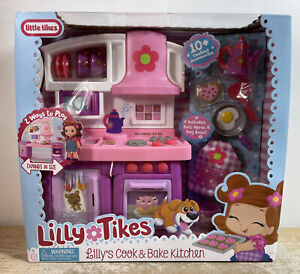 Lilly's Cook & Bake Kitchen Doll Playset by Lilly Tikes from Little Tikes