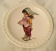 Brownie Downing Ceramics Small Plate by Weatherby Hanley England pic Girl