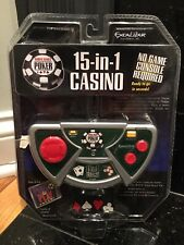 WSOP 15 In 1 Casino Plug N Play Game Excalibur Electronics New In Package