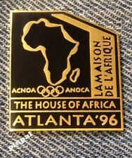 South Africa Olympic Pin Badge~1996 Atlanta Summer Games~The House of Africa