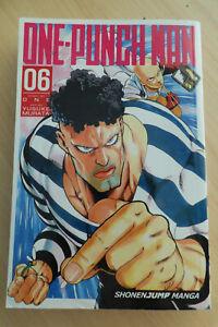 One-Punch Man 06 Shonen Jump Manga First Printing 2016