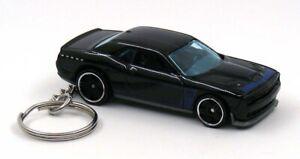2015 Dodge Challenger SRT Black Key Chain Ring Fob Keychain