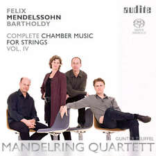 [BRAND NEW] SACD: MENDELSSOHN: COMPLETE CHAMBER MUSIC FOR STRINGS VOL.IV