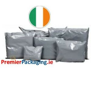 Grey Poly Mailer Mailing Bags - various sizes!