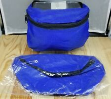 NEW FANNY PACK BLUE Vacation Money Pouch Waist