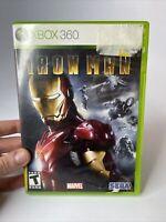Iron Man (Microsoft Xbox 360, 2008) Complete free ship
