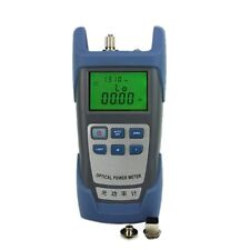 Handle Fiber Optic Optical Power Meter -70 10dbm Sc/fc Alkaline Battery