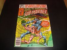 Sub-Mariner Tales To Astonish #10 Marvel Comic Book 1980 Fn Condition