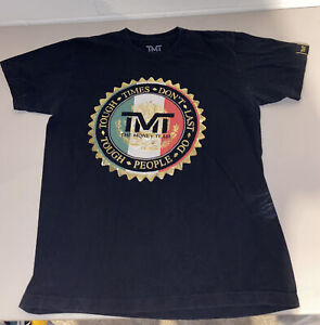 TMT The Money Team Floyd Mayweather T-Shirt - Mens Large L - Black