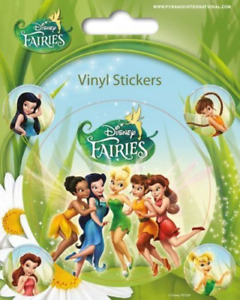 Disney Fairies Tinkerbell Vinyl Sticker - 1 sheet, 5 stickers