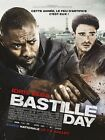 Affiche 40x60cm BASTILLE DAY (2016) Idris Elba, Richard Madden, Le Bon NEUVE