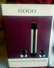 New listing Gogo Vacum Wine Stoppers A brand-new, unused, unopened, undamaged item