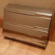 Vintage Lincoln Beautyware Aluminum Foil Waxed Paper Towel Dispenser Wall Holder