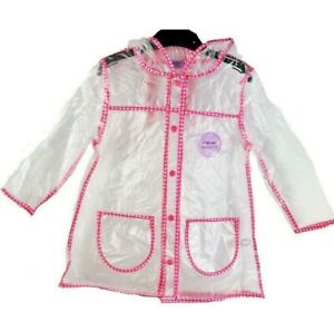 New Girls F&F Raincoat - Age 12 Months to 7 Years - Free 1st Class Postage
