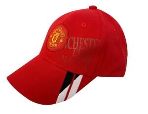 Manchester United Cap for Kids, Licensed Manchester U. JR Adjustable Baseball Ca