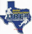 """Texas  International Technical Rescue Conference ITREC (4"""" x 4"""" size) fire patch"""
