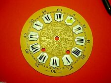 Cadran  pendule neuchateloise Zenith horloge Zifferblatt Uhr Clock 15 cm dial G1