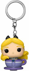 POP Keychain Disney 65th Alice in Teacup figure Funko 13784