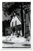 1962 RPPC The Emporium Store, Sierra City, CA Real Photo Postcard *5I1