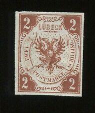 Al7) AD Lübeck MiNr 3 (*) unused FINE