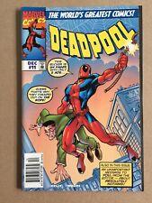 DEADPOOL #11 NM- Amazing Fantasy 15 cover homage swipe Spider-Man MARVEL COMICS