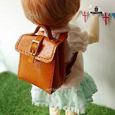 1/6 BJD Bag YOSD Dollfie DIM Luts DOD AOD Backpack Quilting Bag Doll Bag Yellow