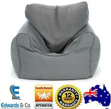 Bean Bag Chair Cover Large Luxury Beanbag Sofa Armchair Sleeping Indoors Grey