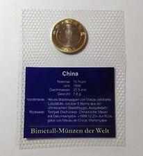 Bi-Metall Münzen aus China