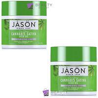 Jason SATIVA Seed Oil Moisturising Cream 113g pack of 2