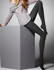 "Womens Opaque Patterned Tights ""Colette"" 60 Denier S M L"