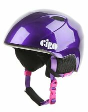 Casque skis snowboard GIRO SLINGSHOT enfant purple stars taille M/L *NEUF*