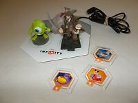 Small lot Disney Infinity chips characters and console pad untested pre owned