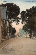 BROUGH - Near Hull - Yorkshire - Road Scene - Original 1906 Postcard (2.09)