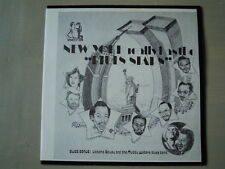 "Various -NEW YORK REALLY AS THE ""BLUES STARS"" (Lp) Press USA NEW"