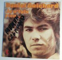 N93 Vinyle 45-tours Daniel Guichard vieillir ensemble, je n'fais rien...