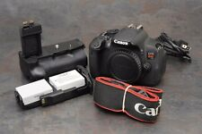 :Canon EOS Rebel T4i / 650D 18.0 MP Digital SLR Camera Body w Grip - Read