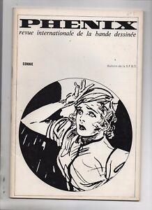 Supplément à Phénix n°2. Connie contre le vengeur invisible. SERG 1968