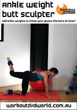 Toning EXERCISE DVD - Barlates Body Blitz ANKLE WEIGHT BUTT SCULPTOR!