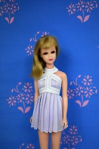 HM OOAK Lilac For Vntg No Bangs Francie Barbie Dress Momoko & Takara size