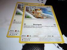 POKEMON 2 X MEOWTH OMBRE INFUOCATE 101/147 - in ITALIANO