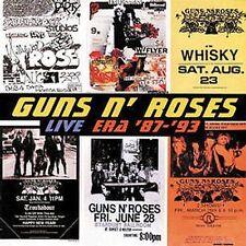 Live: Era '87-'93 [Clean] [Edited] by Guns N' Roses CD, Nov-1999, 2 Discs