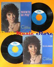 LP 45 7'' CINZIA CORRADO Niente di piu'Tu e il mare 1985 italy C&M cd mc dvd*