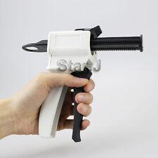 Dental Impression Mixing Dispensing Dispenser Gun 1:1 Ratio, 50ml FREE SHIPPING