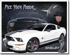 """Ford Cars Shelby Cobra Classic Tin Sign Home Garage Wall Decor Auto Gift 16"""""""