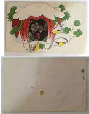 Old / Antica Postkarte / Postcard / Cartolina In love / Innamorati Bulgaria